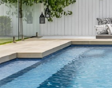 Himalayan sandstone pool coping tiles drop face by stone pavers melbourne, sydney, canberra, brisbane, adelaide and hobart