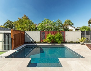Himalayan sandstone pool coping tiles drop face by stone pavers melbourne, sydney, canberra, brisbane, adelaide & hobart