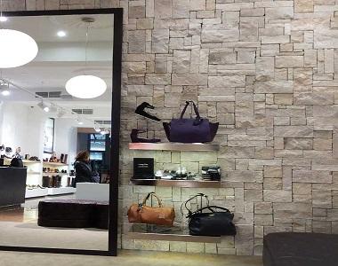 Ivory Travertine Loose Wall Cladding Stone, biege tiles, cream tiles cladding by stone pavers australia