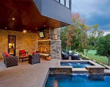 Outdoor Sandstone Tiles with a honed finish by stone pavers melbourne, sydney, brisbane canberra
