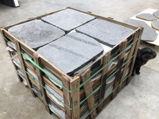 crazy paving tiles and pavers