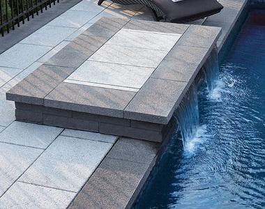 dove grey granite pavers, granite tiles, pool pavers, gery tiles, dark pavers by stone pavers melbourne sydney, brisbane, sydney, canberra,