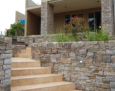 earth loose wall cladding stacked stone wall tiles, stone pavers melbourne