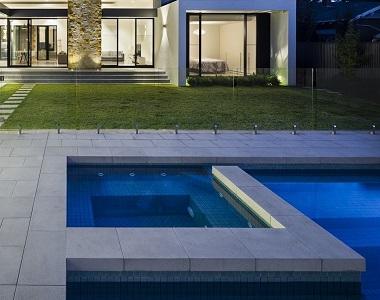 european bluestone pavers drop face pool coping tiles, blue tiles, dark tiles, black pavers