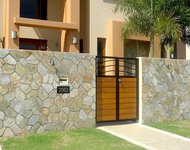 golden quartz crazy paving on mesh, national tiles, by stone pavers melbourne, wall cladding