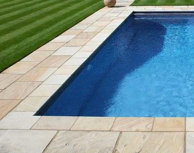 sandstone buff tiles and pavers, beige tiles, cream tiles, outdoor pavers, outdooor tiles, stone pavers melbourne, sydney, brisbane, canberra, hobart, brisbane