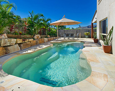 sandstone pool coping pavers and tiles, yellow tiles, outdoor coping tiles by stone pavers melbourne, sydney brisbane canberra and hobart