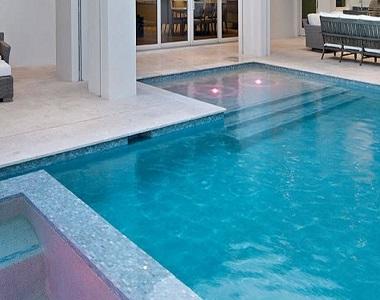 shell white limestone bullnose pool coping tiles, white pool coping tiles, round edge coping stone pavers