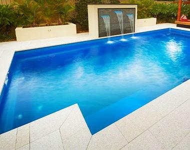 summer daze granite drop face pool coping tiles, yellow copin, light coping tiles, granite coping pavers