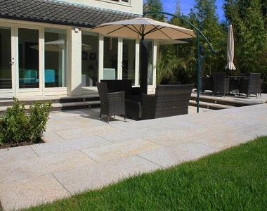 summer daze granite pavers and tiles, pool pavers, yellow tiles, ochre tiles by stone pavers australia - melbourne, sydney, brisbane, adelaide, canberra, outdoor pavers outdoor tiles