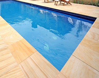 teakwood pool coping tiles sandstone pavers tumbled by stone pavers australia melbourne