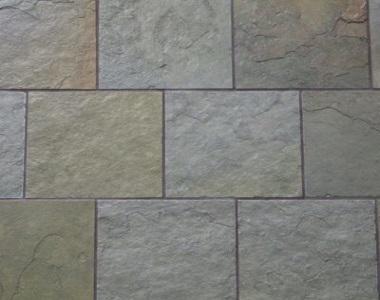 bottle green slate tiles