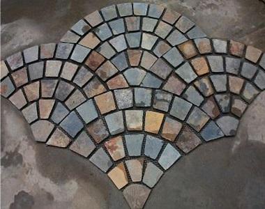 kakadu cobblestones fan pattern