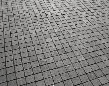 midnight cobblestones black pavers