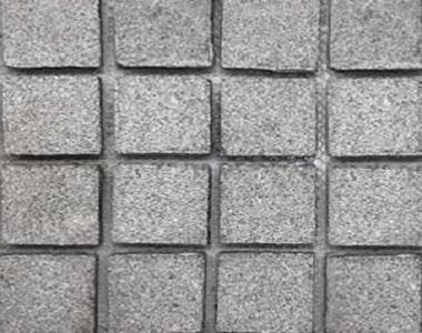 raven exfoliared grey cobblestone tiles and pavers