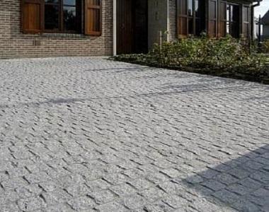 raven natural split cobblestones stone pavers and tiles