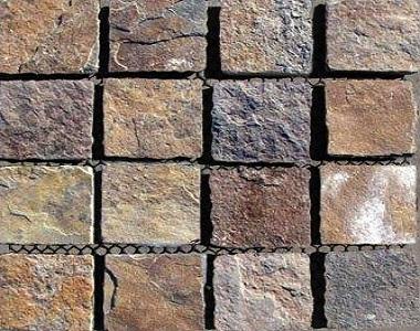 rustic kakadu slate cobblestone natural stone tiles