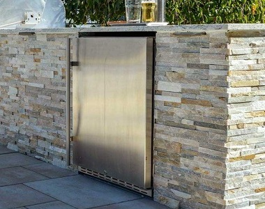 stack stone leight feature wall cladding