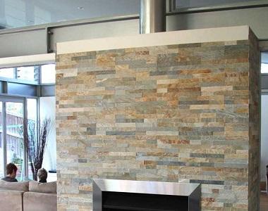 stackstone leight fireplace wall cladding