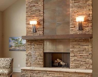 travertine stackstone wall cladding tiles, natural stone wall tiles, beige stone fireplace stone tiles, feature water place wall tiles by stone paver-