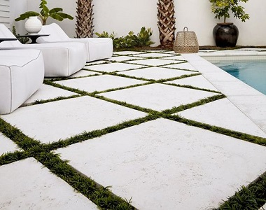 white travertine tiles, white tiles, outdoor tiles, stone pavers geelong, melbourne, sydney, brisbane, canberra, hobart