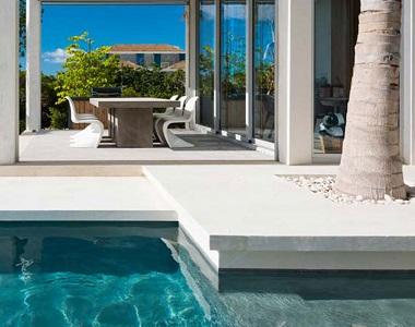 white drop down pool coping tiles, white pool coping, white pool pavers, stone pavers melbourne, sydney australia