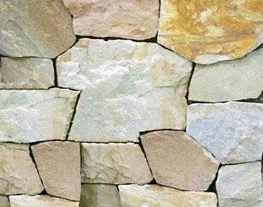 loose natural split sandstone wall cladding