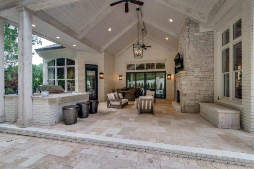 Ivory rustica travertine pavers patios tiles, stone pavers melbourne, sydney, brisbane, canberra
