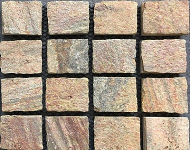 Porphyry Exfoliated Cobblestones