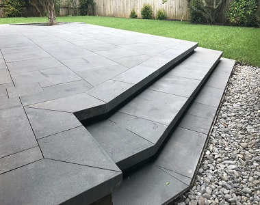chinese Bluestone pavers and tiles steps by stone pavers melbourne sydney brisbane adelaide canberra