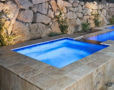 Antique Tumbled Travertine Coping Tiles, cream pool pavers, beige tiles, stone pavers sydney and melbourne