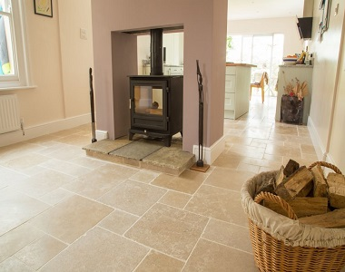 Ivory Travertine Tiles Indoor Filled and Honed by stone pavers, indoor tiles, indoor pavers