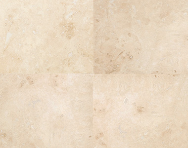 Ivory Travertine Tiles Indoor Filled and Honed by stone pavers
