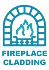 fire place wall cladding by stone pavers australia