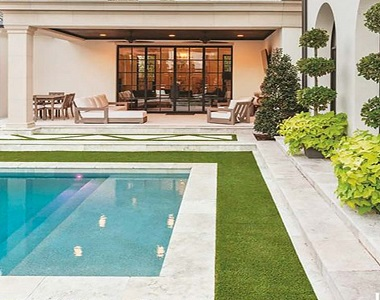 white pool coping tiles, drop face pool coping by stone pavers