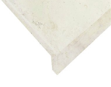 white pool coping tiles, drop face pool coping tiles, stone pavers australia