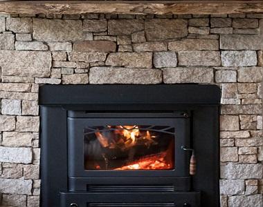 earth ledgestone fireplace stone wall cladding