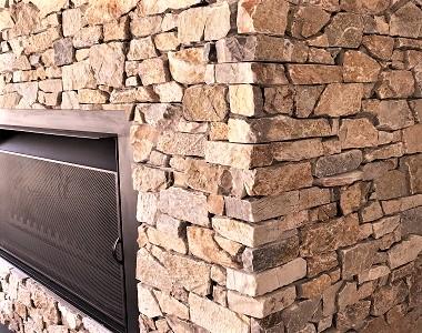 ledgestone, stone wall cladding tiles, natural stone tiles by stone pavers melbourne, sydney, canberra, adeliade,brisbane, fireplace stone cladding