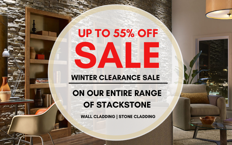 stackstone wall cladding sale banner